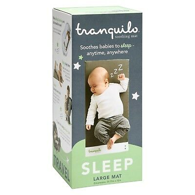 Tranquilo Soothing Baby Mat Large Portable Battery Operated Vibrations Ages 0-6M