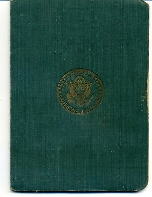 1920 United States  Expired Canceled Collectible Passport, Travel Document