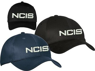 c01b22e9207e5 Ncis Military Cap Naval Criminal Investigative Service Hat Black Or Navy
