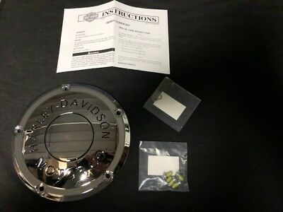 Harley Davidson Chrome Touring H-Dmc Collection Derby Cover P/n:25700436