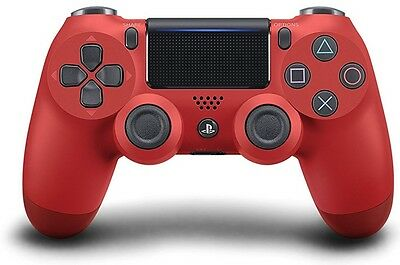 PlayStation 4 PS4 Dualshock 4 Controller Magma Red V2 New (1)