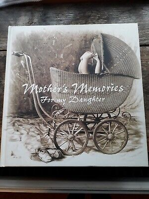 Mother's Memories For My Daughter Remembrance's Book