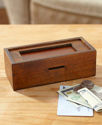 Mysterious 5 Step Puzzle Gift Box Gift Card Holder Cash
