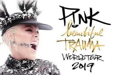 PINK! Gold Circle Concert Tour 2019 TICKET x2  CARDIFF Thurs 20th June