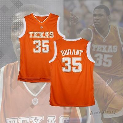 d5ce9acc ... new style kevin durant 35 texas longhornsburnt basketball jersey e7494  07c07