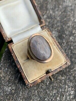 Fine Antique Georgian Gold Memorial Ring