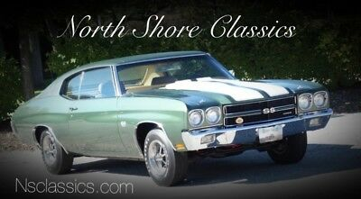 1970 Chevelle -L78 ENGINE -TWO BUILD SHEETS-FACTORY SS396-4 SPEE 1970 Chevrolet Chevelle, Forest Green with 5,691 Miles available now!