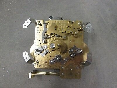 """Hermle Westminster Chime Mantel Clock Movement 340-020  Working Condition """"86"""""""