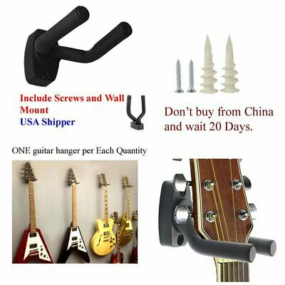 Guitar Hanger Stand Holder Wall Mount Display Acoustic Electric Guitar BB