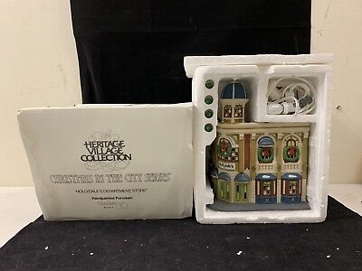 Dept. 56 Christmas In The City Hollydale's Department Store Grand Store #5534-4