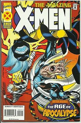 Amazing X-Men #2 (Apr 1995, Marvel) AGE OF APOCALYPSE