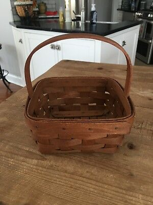 Longaberger Basket - 1982 Berry with Stationary Handle? USA