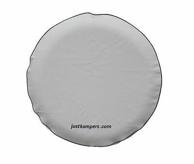 White Spare Wheel Cover VW T2 Split 1964–1967 VW T2 Bay 1967–1979  (185/195 14in