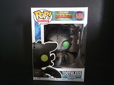 Funko Pop! Toothless #686 How To Train Your Dragon 3 The Hidden World