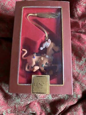 LENOX A SCOOBY DOO HOLIDAY ORNAMENT Great Dane Dog NEW in BOX