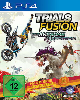 Trials Fusion -- The Awesome Max Edition PS4 (Sony PlayStation 4) NEUWARE