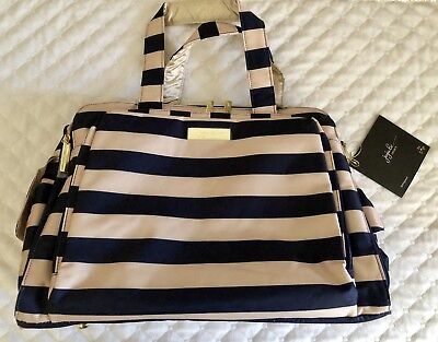 JuJuBe Be Prepared Legacy Collection The First Mate Diaper/Travel Bag NWT