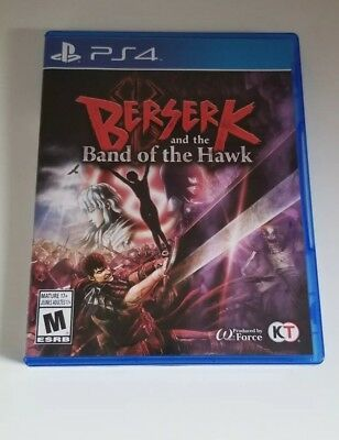 Berserk and the Band of the Hawk - Like New - CIB (Sony PlayStation 4, 2017)