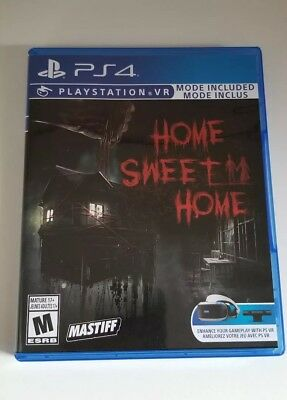 Home Sweet Home (Sony Playstation 4, PS4) Like New - CIB - Eb Games Exclusive -