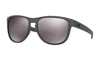NEW Oakley Sliver R POLARIZED Sunglasses OO9342-08 Steel COLOR W/ Prizm Daily