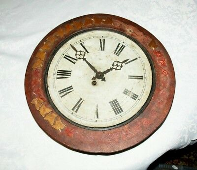 Antique JAPY FRERES Wall Clock, Restoration