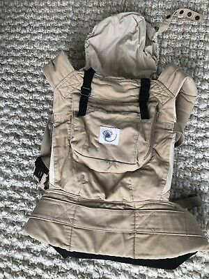 ERGO BABY Ergo Soft Structure Classic Adjustable Front Back Baby Carrier
