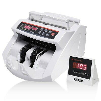 NC20i Electronic Bank Note Money Counter - All Currency Count Detector