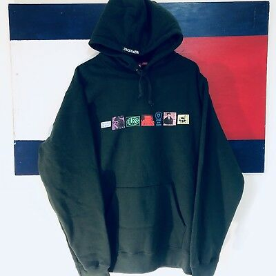 82bd8a44c64 NEW Supreme Palace Green Blessed Hoodie Sweater Sweatshirt SS18  IN HAND    (XL