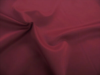Discount Fabric 2 Ply 100% Nylon Taslan Water Repellent Burgundy KK37