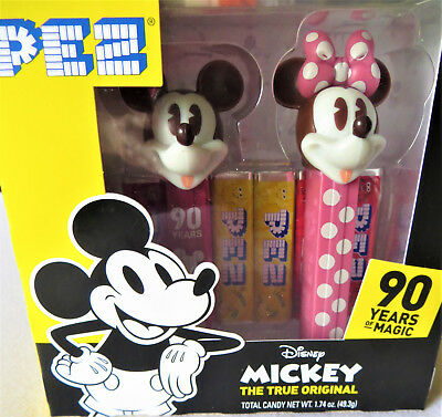 Disney Mickey Mouse 90th Anniversary Minnie Mouse PEZ Dispenser Set New Release