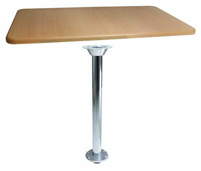 Table Kit With Chrome Island Table Leg