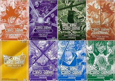 Dragon Ball Super TCG Card - Sealed Promotional Booster Packs - VERY RARE CARDS