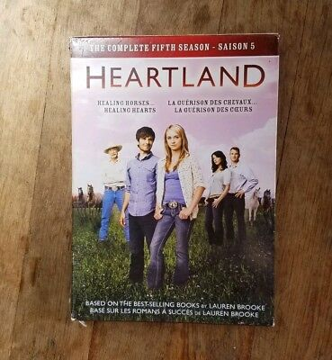 Heartland Complete Season Five 5 DVD 5 Disc Box Set 2017
