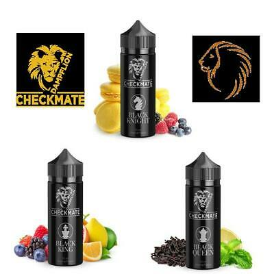 Dampflion CHECKMATE BLACK DAMPF E-LIQUID AROMA 10m 3 Sorten Queen ,King ,Knight