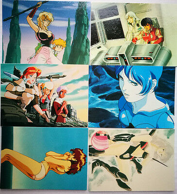The World of U.S.Manga Corps  - Trading Card Set - Comic Images 1994