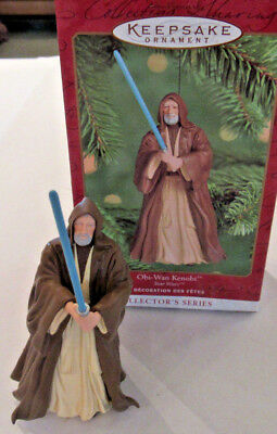 Star Wars Obi-Wan Kenobi Hallmark Ornament New in Box 2000