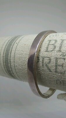 925 Sterling Solid Silver Scrap Repair Harvest Bangle Bracelet 16g