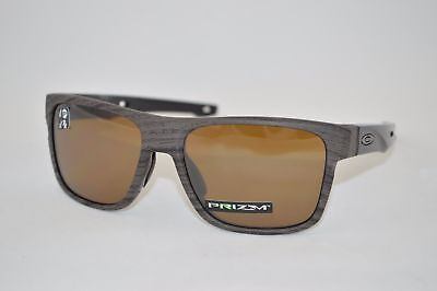 7d06a90090 Oakley Crossrange POLARIZED Sunglasses OO9361-0757 Woodgrain W  PRIZM  Tungsten