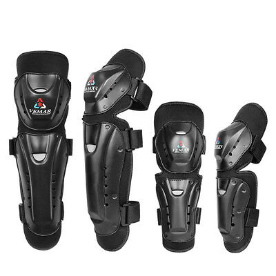 Motorcycle Rider Protector Knee Pads & Elbow Pads Professional Protective Guard