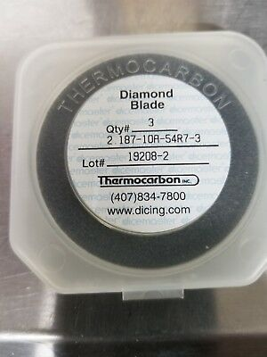 Dicemaster Thermocarbon  2.187-10A-54R7-3 Dicing Blade (3Pack)diamond dicing saw