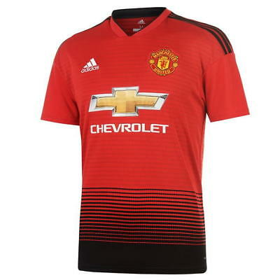New Manchester United Home Shirt (Red) 2018/19 Available In Various Sizes
