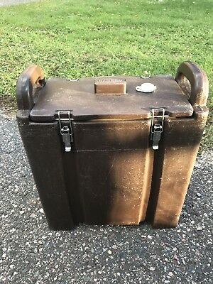 Brown Cambro LCD-500 Insulated Cooler Transport For Hot or Cold Cool/Camping++