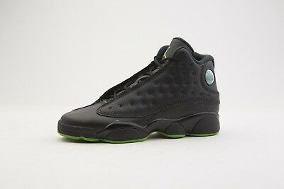 NIKE AIR JORDAN 13 Retro BG Black Altitude Big Kids Basketball Shoes ... 23ba7ba01