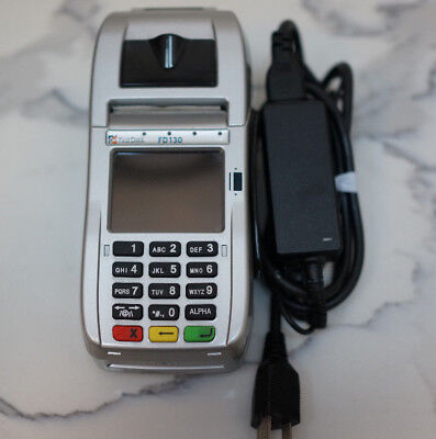 First Data FD130 POS Credit/Debit Card Terminal with cord