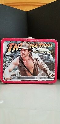 Vintage INDIANA JONES & THE TEMPLE OF DOOM Lunch Box - No Thermos 1984