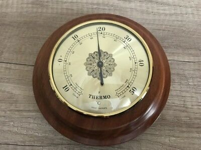 Thermometer..RundThermometer ...Holz