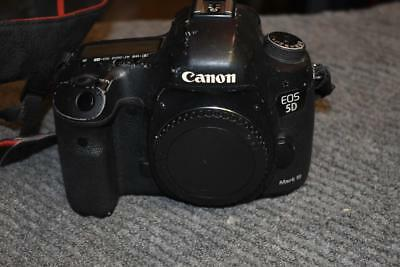Canon EOS 5D Mark III Body Only  Shows Sign of Use.