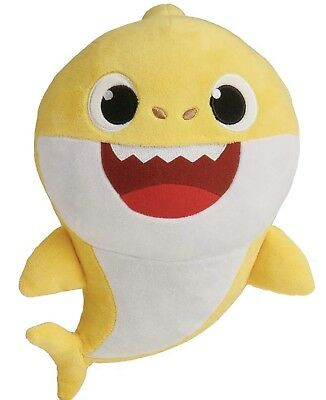 Yellow Baby Shark Official English Singing Plush WowWee. Arrive Before Xmas!!!