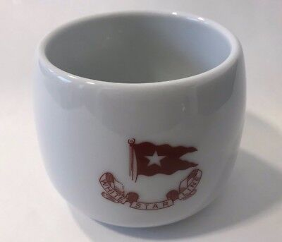Titanic Artifact Collection Authentic Reproduction White Star Line Coffee Mug