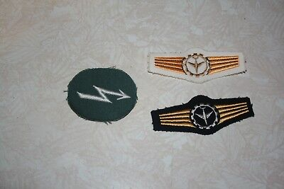 German Army Signal Blitz Pioneer Troops Patch And Others